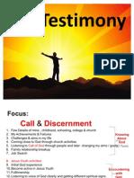 Only Vignan Testimony