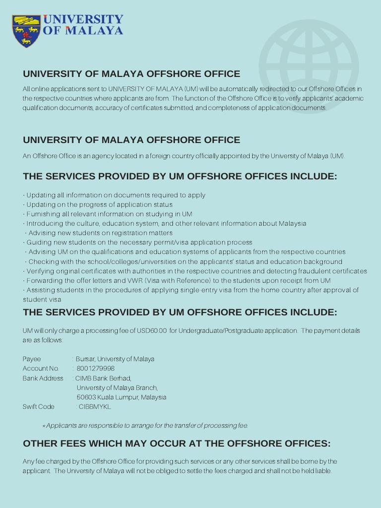 Offshore notice travel visa payments xflitez Choice Image