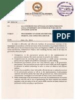 DILG MC 2016-96 Procurement of Goods& Services, Infra