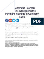 SAP Automatic Payment Program