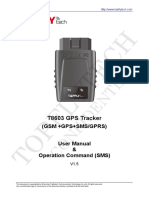 Topflytech t8603 User Manual