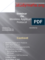 Wireless Application Protocol Ppt
