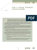 Elipse y Curvas Técnicas - Sistema Acotado