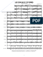 00 - Marcia Caratteristica - LE CHIAVI D'ORO [Partitura]