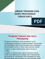 Program Transisi Dan Guru Penyayang Slide 2016