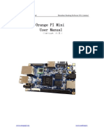 OrangePi Mini User Manual v1.0