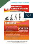 Nanotronics Project List 2016