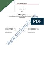 MECH Jet Engines Report