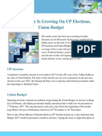 Media Sector is Growing on UP Elections Union Budget