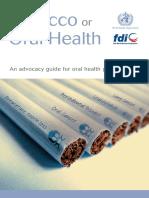 Oral Health Tobacco Fdi Book