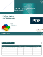 EA Foundation programme SAP BI Blueprint v2.0.ppt