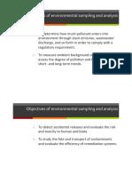 Environmental Sampling 1