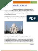 India Video - Architecture