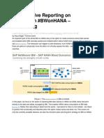 3151-HANA-Native Reporting on BW Data