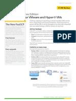 Datasheet - Veeam Backup Free Edition