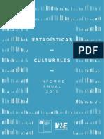 Estadísticas Culturales Chile 2015
