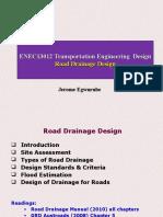 13 Drainage Design