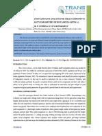 37. Agri Sci - Ijasr-character Association and Path Analysis Fo