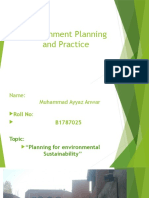 Environment Planning and Practice (4)