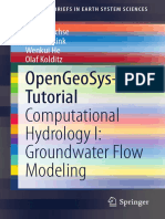 GIS Groundwater and Hydrology OpenGeoSys-Tutorial