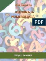 Mini Curso de Iniciación a La Numerología - Ezequiel Sanchez