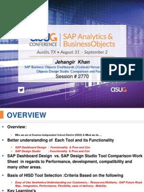 2770 Sap Businessobjects Dashboards Xcelsuis Versus Sap Businessobjects Design Studio Comparison And Features 1 Sap Se Adobe Flash
