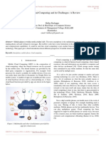 Mobile Cloud Computing and its Challenges