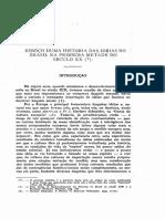 1954 - J. Cruz Costa Esbôço Duma História Das Idéias No Brasil Na Primeira Metade Do Século XX (I)