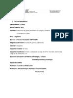 Programa -2016- Filología Hispánica i