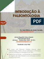 Aula 01 - Introdução à Paleontologia