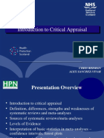 Critical Appraisal for NES HPN ASV 2014 Dec.ppt