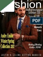 Fashion Central International December Issue 2016