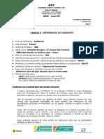 Annexe 6 Réf du candidat.doc