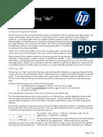 Understanding DPI