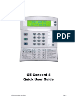 Concord 4 Quick User Guide