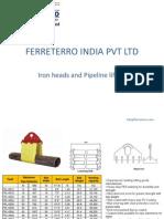 Ferreterro Iron Head Pipeline Lifters Lowering belt