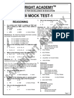 IBPS PO AND SBI PO MOCK TEST
