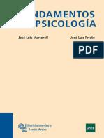 Fundamentos de La Psicologia