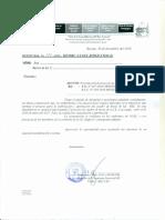 OF. 122-2016 SOBRE EJECUCIÓN DEL CUADRO DE HORAS EN LAS II.EE DE RECUAY