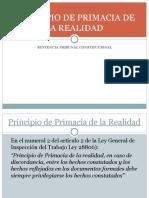 Principio de Primacia de La Realidad (3.10.2015)