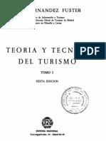 Teoria y Tecnica Del Turismo Tomo i