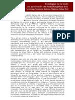 ÓSCAR FERNÁNDEZ -  ESTRATEGIAS DE LA VISIÓN