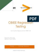 OBIEE Regression Testing