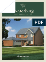 Canterbury the 4 Bed Floorplan Warren Grove Dawlish Redrow