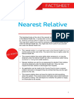 Nearest Relative Factsheet