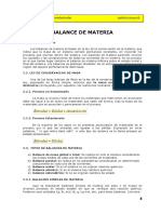 2. Balances de Materia y Energia