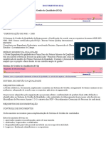 Documentos Sgq