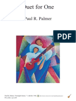 Duet for One - Paul R. Palmer