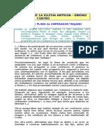 000109 28 - Carta de Plinio a Trajano - Persecuciones - Plin