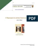 Reparacao de Janelas Historicas Em Madeira